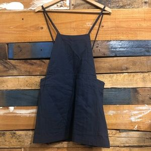 Free people overall skirt SzXS blue